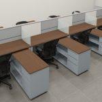 Estaciones de trabajo Opción 1 A